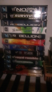 WWF WWE Tapes