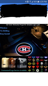Montreal Canadiens & Senators car light
