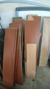 Laminate from 2 rooms