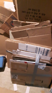 FREE Moving Boxes - Flattened
