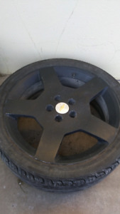 Chevy Cobalt SS Rims and Tires