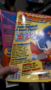 Over 100 Various Vintage Video Gaming Magazines