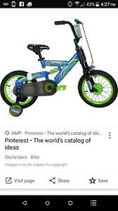 """Skylanders 14"""" bike"""