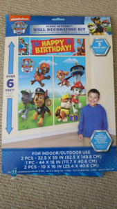 Paw Patrol Birthday Decorations