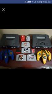 N64 bundles and add ons