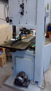 scie à ruban industrielle pour bois