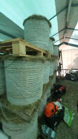 Mini Round Bale Hay for Sale