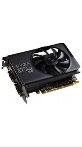 EVGA NVIDIA GEFORCE GT 740 SC 2 GB Graphic card