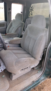 Chev truck bucket seats