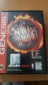 Sega genesis game nba jam