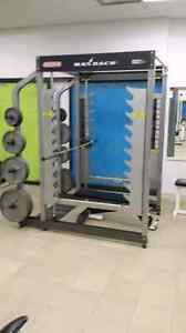 Star trac 3d smith machine and rack