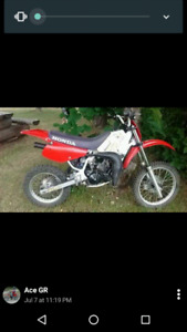 1995 cr 80 r bored to 95 cc