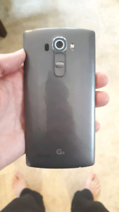 LG G4 With 32 GB Memory And Protective Case! Unlocked!