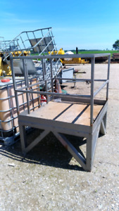 Forklift man cage or work platform