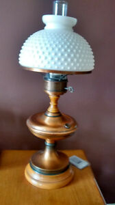 Two Colonial Lamps $60.00 each or $100.00 for both