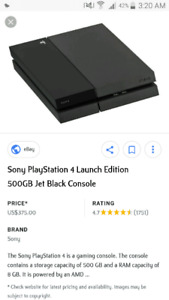 Looking for xbox 1 or ps4