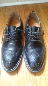 Dack's Black Leather Shoes. *Must See*