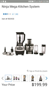 Ninja Blender Mega Kitchen System