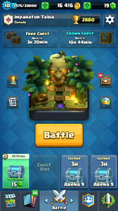 Really good clash Royale account please read the description.