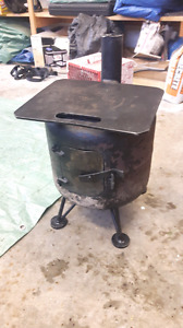 Reduced ***Ice hut wood stove/ propane bottle wood stove