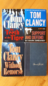 4 Tom Clancy Novels