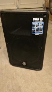 Yamaha DBR15 1000W speaker