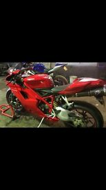 Ducati 1098 (extremely low miles)ballymena, not catterick