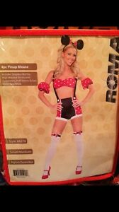 Sexy Minnie Mouse Women's Halloween Costume Size Small / Medium