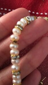 Pearl earring and necklace set Peterborough Peterborough Area image 2