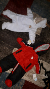 BNWT snow suits