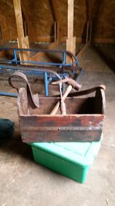 Coffre d outils antique