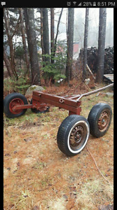 Logging cart open to offers