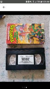 Vintage 1988 TMNT VHS Movie
