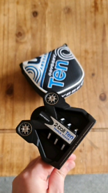 Odyssey 2-Ball Ten Triple Track Strokelab Golf Putter 34' (Like New)