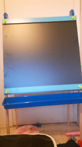 Kids chalk board / colouring and paint board