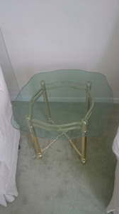 For sale glass table
