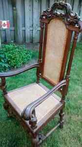 Antique Kings chair London Ontario image 3