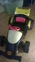 Pedal Car Indy 500 collectible Fisherprice 4ft x 2.5ft