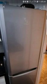 Free delivery in Croydon tall silver Indesit fridge good working order