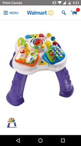 Sit and stand activity table . Vtech