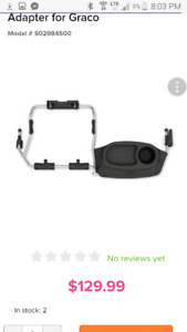 Graco adapter for Bob Stroller - single and double available