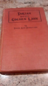 Vintage hardcover books from the early 1900's