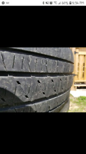 "Bridgestone duellers 20"" truck tires"