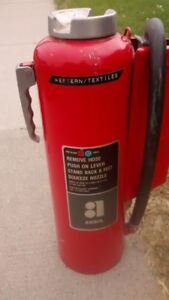 red ansul fire extinguisher