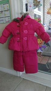 Toddler Girls Size 1 Snowsuit