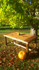 Fall harvest table home made