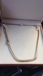 5oz 30 inch 10k gold custom Cuban link chain