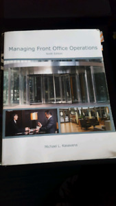 Managing Front Office Operations Ninth Edition