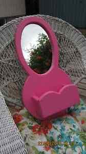 Pink Mirror/Planter
