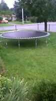 Trampoline for sale (NEED GONE ASAP)
